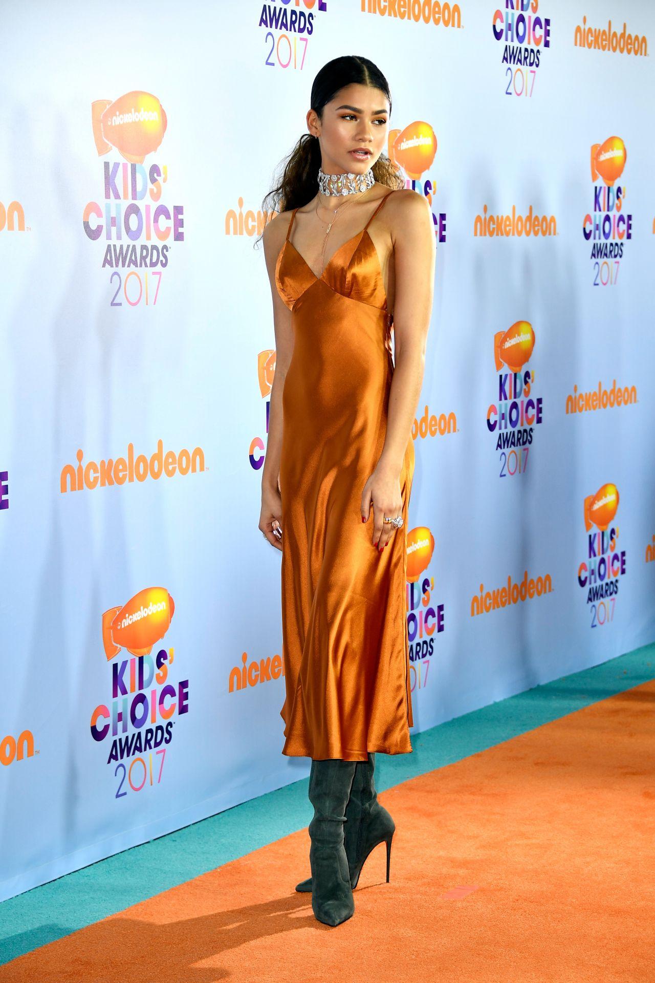 Zendaya Nickelodeon S Kids Choice Awards In Los Angeles