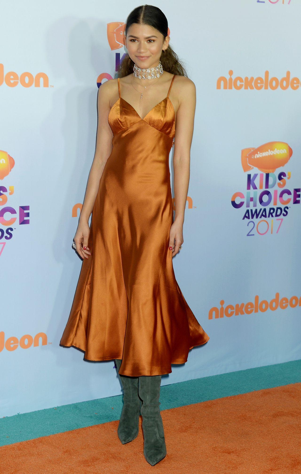 e55cd402991a Zendaya – Nickelodeon's Kids' Choice Awards in Los Angeles 03/11/ 2017