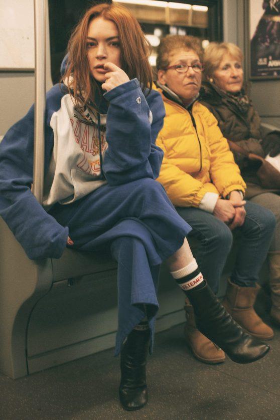 Lindsay Lohan - Photoshoot for ODDA Magazine 5th Anniversary