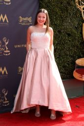 Addison Holley on Red Carpet - Daytime Creative Arts Emmy Awards 2017 in Pasadena