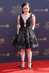 Adrianna Di Liello on Red Carpet – Daytime Creative Arts Emmy Awards 2017 in Pasadena