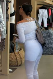 Adrienne Bailon in Workout Gear - Coming Out of Her Yoga Class in Beverly Hills 3/31/2017
