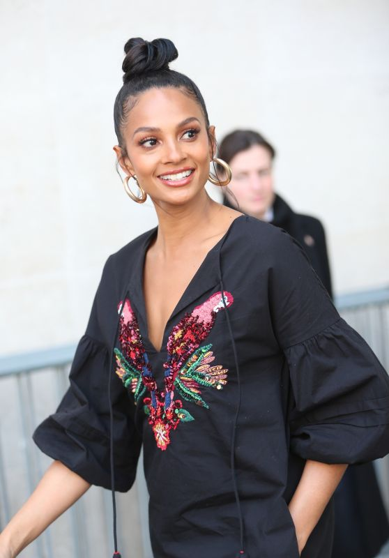 Alesha Dixon - Leaving the BBC Studios in London 4/6/2017