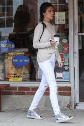 Alessandra Ambrosio Street Style - Out For Coffee in Concord 4/20/2017