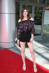 "Alexandra Daddario - ""Baywatch"" Cast Hosts the Slomo Marathon in Los Angeles 4/22/2017"
