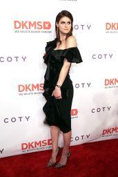 "Alexandra Daddario - DKMS ""Big Love"" Gala in New York 04/27/2017"