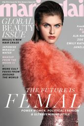 Alexandra Daddario - Marie Claire Magazine, May 2017