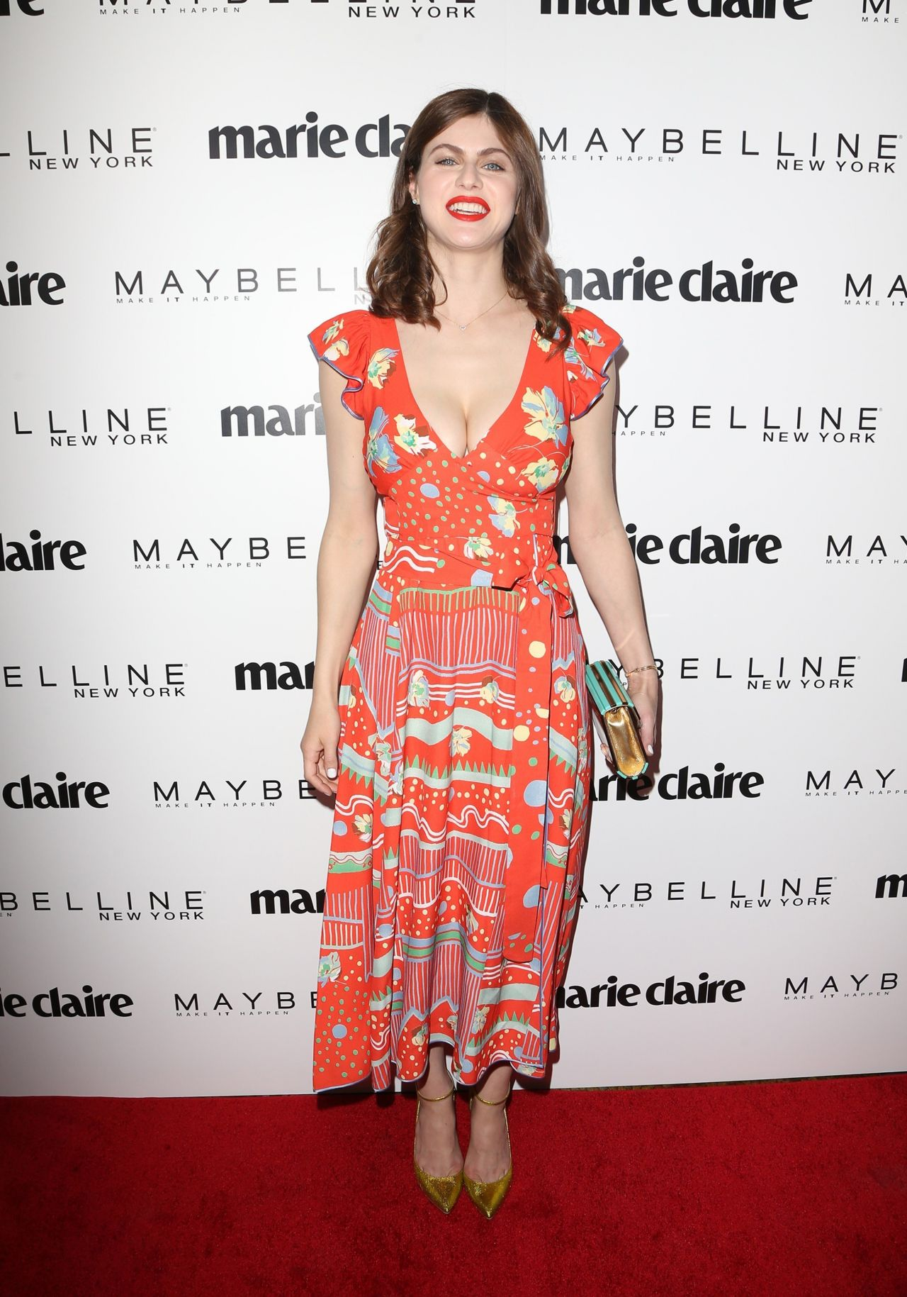 Alexandra Daddario On Red Carpet Marie Claire S Fresh