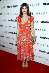Alexandra Daddario on Red Carpet - Marie Claire's 'Fresh Faces' Celebration in West Hollywood 4/21/2017