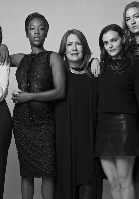 Alexis Bledel, Elisabeth Moss, Yvonne Strahovski, Samira Wiley, Madeline Brewer - W Magazine 04/25/2017