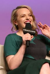 Alexis Bledel, Michelle Monaghan & Elisabeth Moss at Deadline's The Contenders Emmys Event in LA 4/9/2017