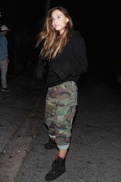 Alexis Ren Enjoying a Night Out at Nightingale Night Club in LA 4/6/2017