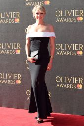Ali Bastian on Red Carpet – Olivier Awards 2017 in London