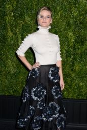 Alice Eve – Chanel Artists Dinner at Tribeca Film Festival 04/24/2017