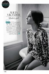 Alicia Vikander - Who Magazine April 2017