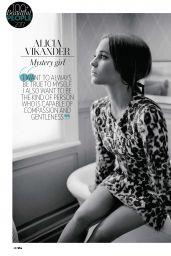 Alicia Vikander - Who Magazine April 2017