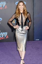 Allison Holker on Red Carpet - Guardians of the Galaxy Vol. 2 Premiere in Hollywood