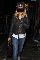 Amanda Holden - Leaving the Vaudeville Theatre in Central London 4/18/2017
