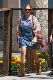 Amanda Seyfried - Filming Scenes for an Unknown TV Show -Tarzana, CA 4/24/2017