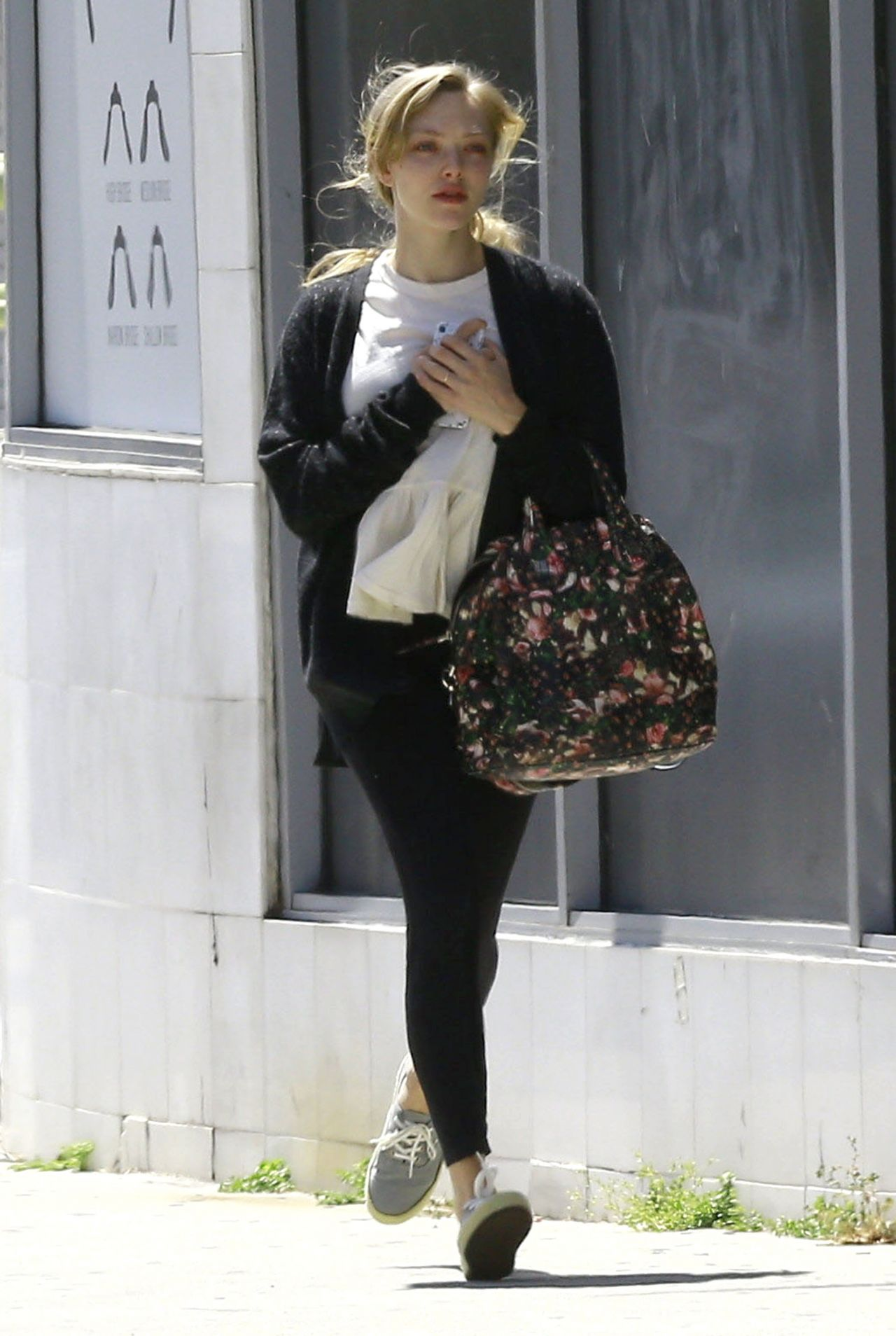 seyfried - out for coffee in la 4/13/2017
