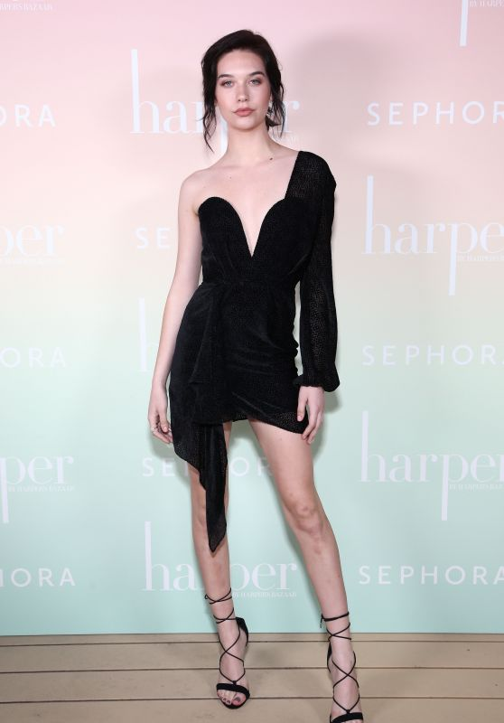 Amanda Steele at Harper's Bazaar Party in Los Angeles 04/26/2017