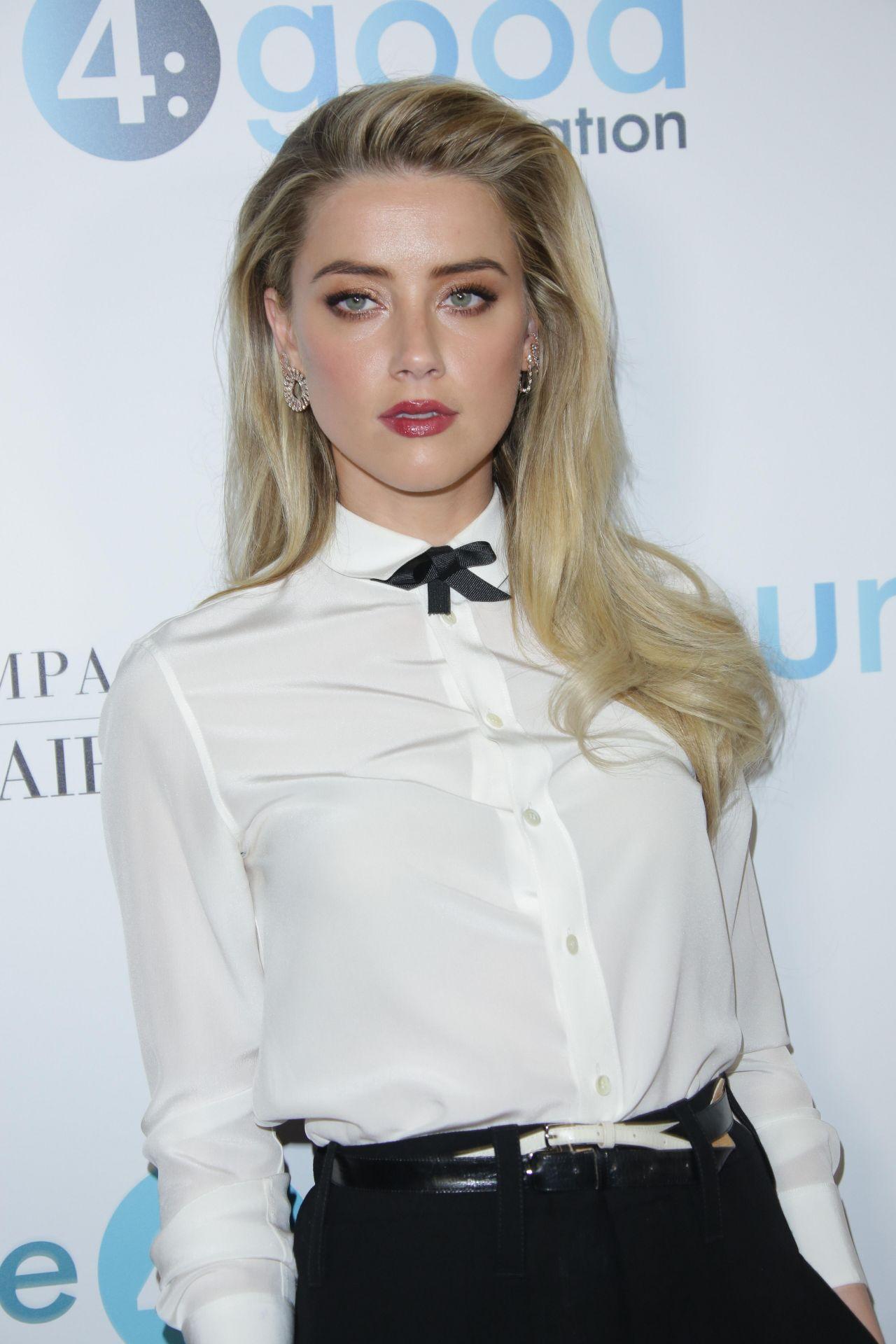 Amber Heard Unite4 Humanity Gala In Los Angeles 4 7 2017