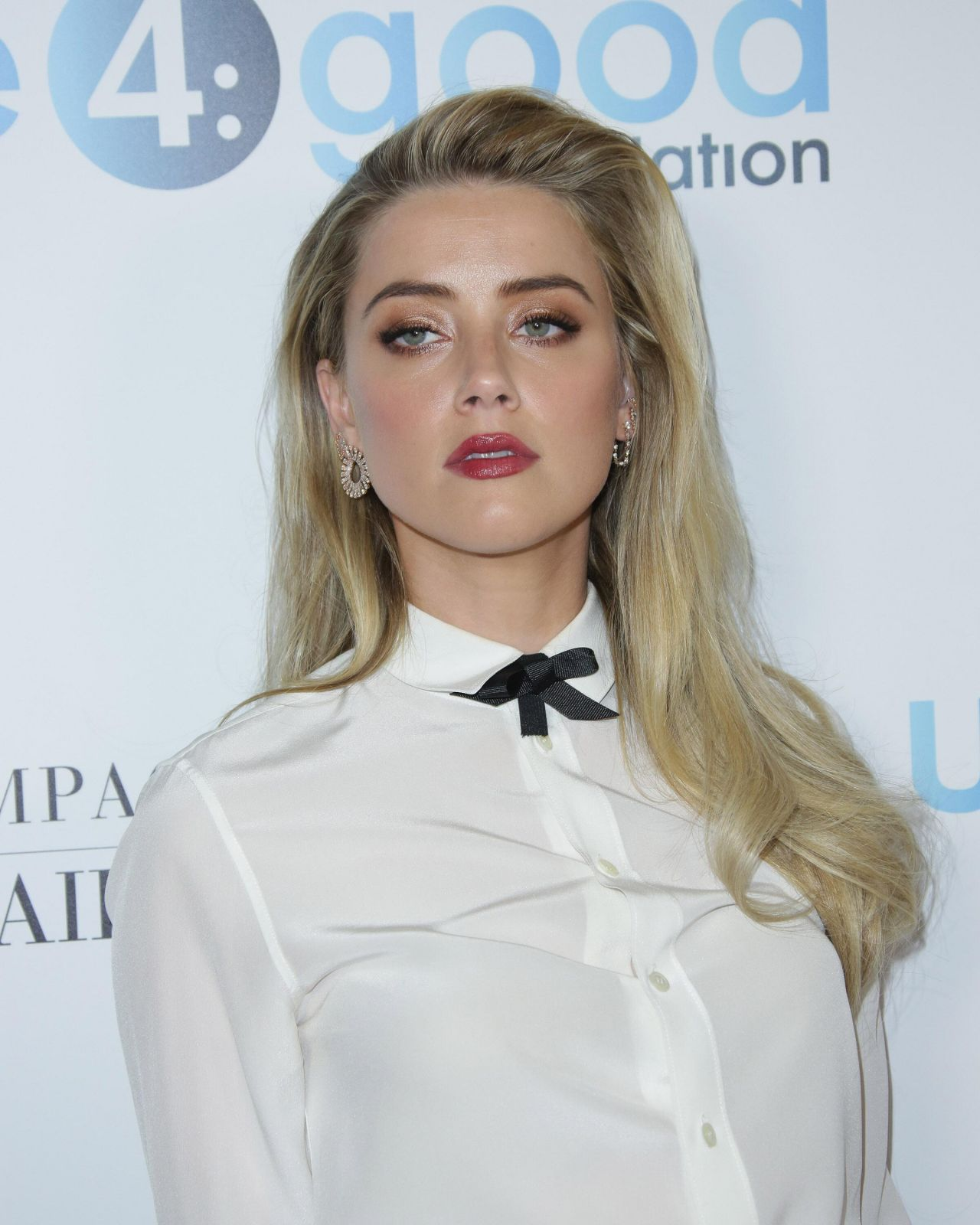 Amber Heard - unite4:humanity Gala in Los Angeles 4/7/2017 Amber Heard