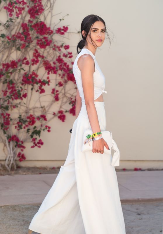 Amelia Hamlin - REVOLVE festival at Coachella in Palm Springs 4/15/2017