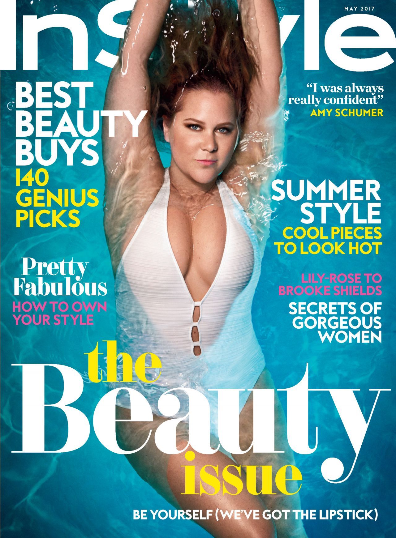 Amy Schumer Instyle Magazine Usa May 2017 Issue