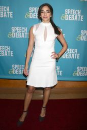 "Ana Villafane at ""Speech & Debate"" Premiere in New York 4/2/2017"