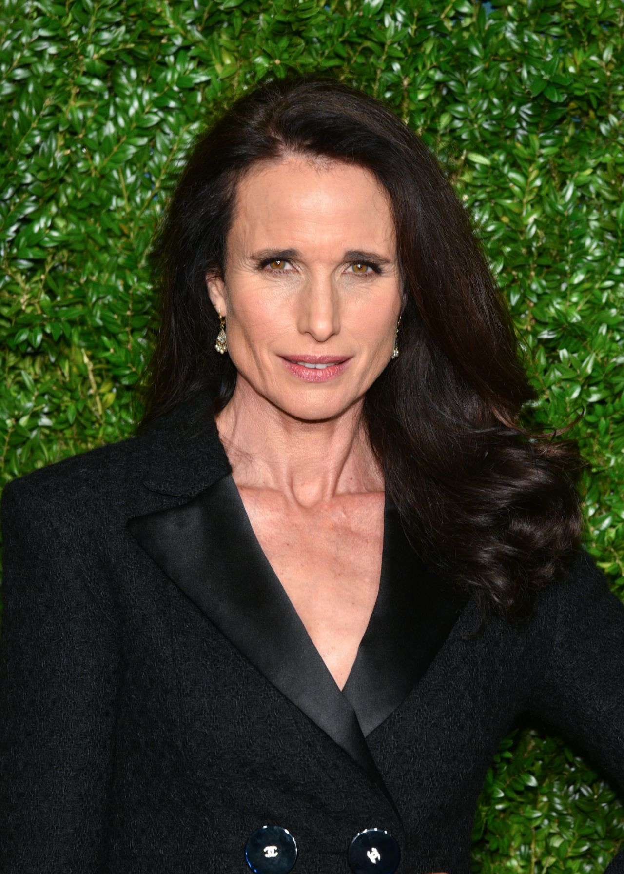 Andie Macdowell Chanel Artists Dinner At Tribeca Film