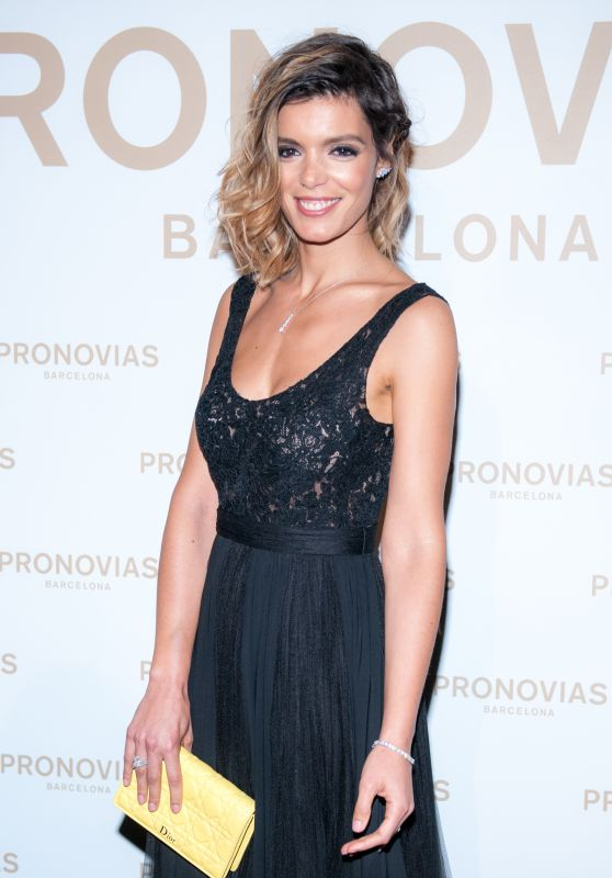 Andreia Rodrigues – Barcelona Photocall at the Pronovias Catwalk Show 04/28/2017