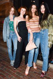 Angela Sarafyan – Sally Singer and Lisa Love Host Denim Dinner in LA 4/5/2017