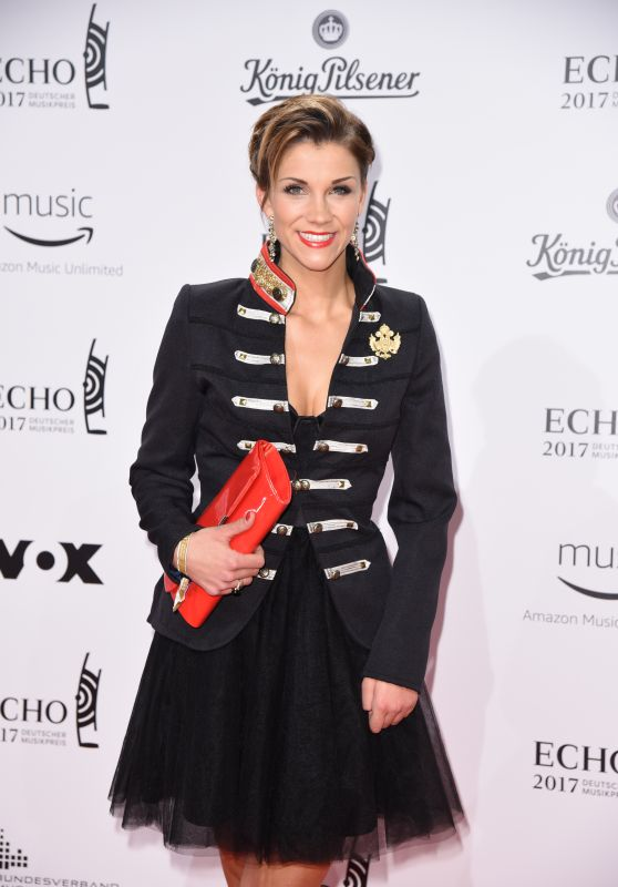 Anna Maria Zimmermann at ECHO Music Awards 2017 in Berlin