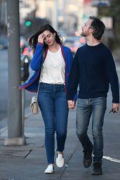 Anne Hathaway Street Style - LA 4/7/2017