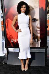 "Annie Ilonzeh – ""Unforgettable"" Premiere in LA 4/18/2017"