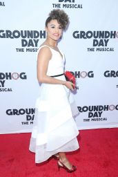"""Ariana DeBose – """"Groundhog Day"""" the Musical in New York 4/17/2017"""