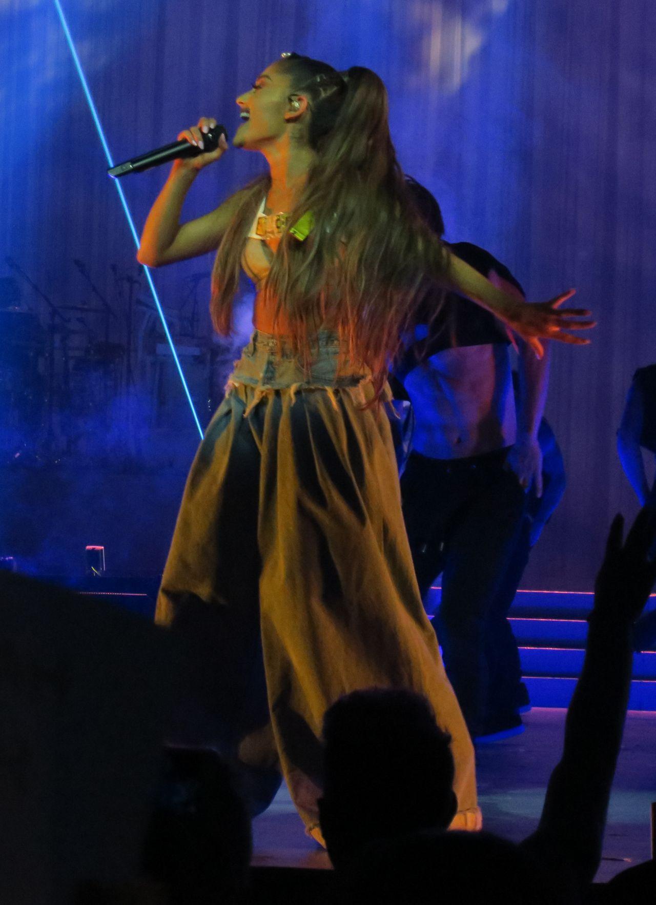 Ariana Grande Performs At Brings Her Dangerous Woman Tour