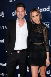 Arielle Kebbel – GLAAD Media Awards in Los Angeles 4/1/2017