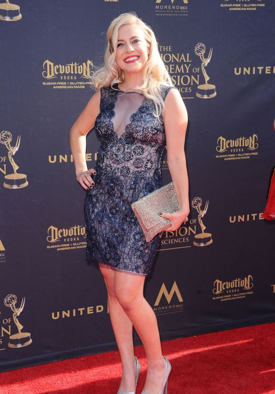 Ashlee Macropoulos on Red Carpet – Daytime Creative Arts Emmy Awards 2017 in Pasadena