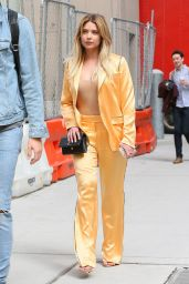 Ashley Benson Chic Style - Leaving an Office Building in NYC 4/17/2017