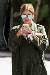Ashley Benson Exiting the Viceroy Hotel in Los Angeles 4/13/2017
