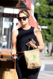 Ashley Benson in Spandex - Out in Beverly Hills 4/5/2017