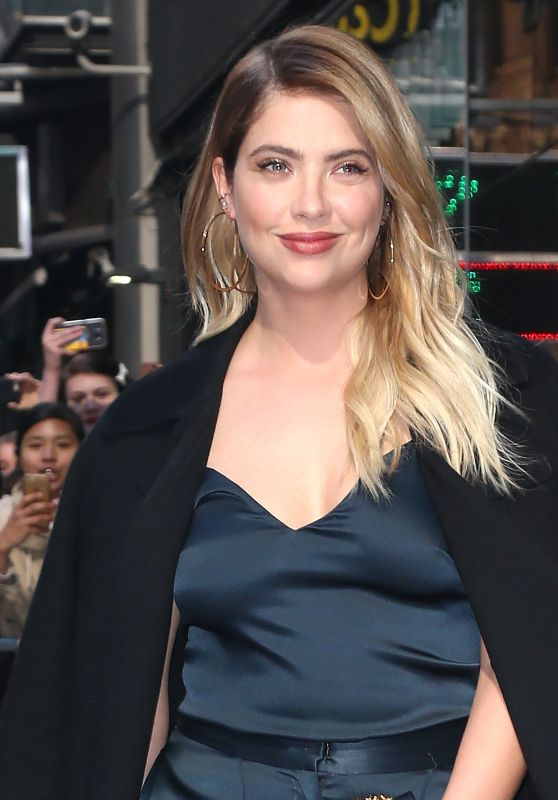 Ashley Benson - Leaves at Good Morning America in NY 4/18/2017