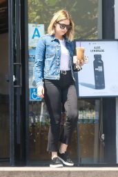 Ashley Benson - Makes a Coffee Run in LA 4/10/2017