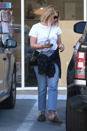 Ashley Benson Street Style - Running Errands in LA 4/10/2017