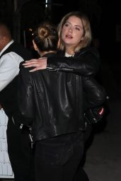 Ashley Benson - Wraps up a Vegan Dinner at Gracias Madre in West Hollywood 4/13/2017