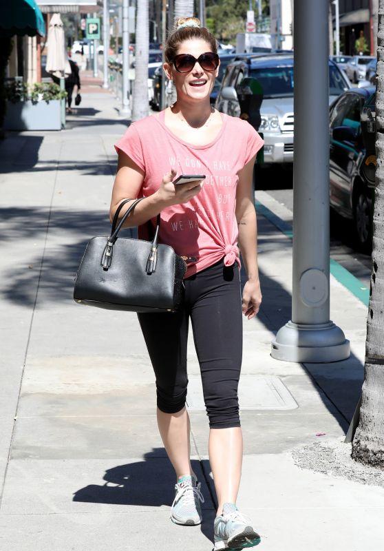 Ashley Greene in Leggings - LA 4/12/2017