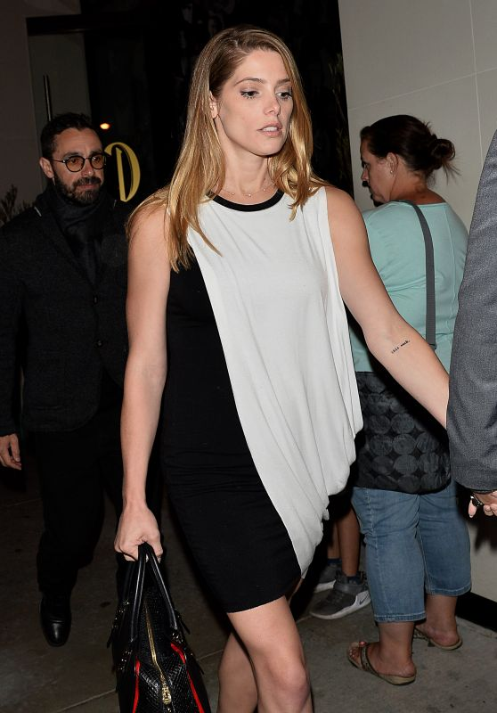 Ashley Greene Night Out Style - Catch LA in Los Angeles 3/31/2017