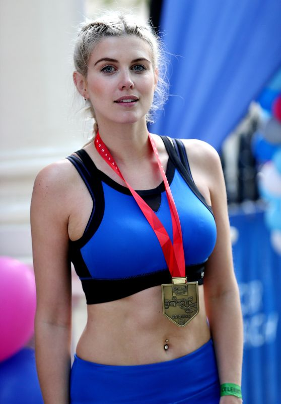 Ashley James At The London Marthon 4/23/2017